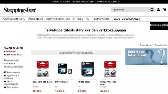 Shopping4net musteet
